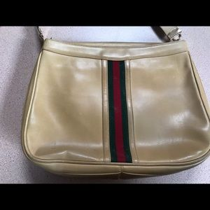 Vintage Gucci Leather Bag